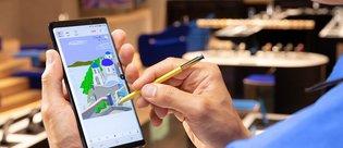 Galaxy Note 9 iPhone X'in gerisinde mi?