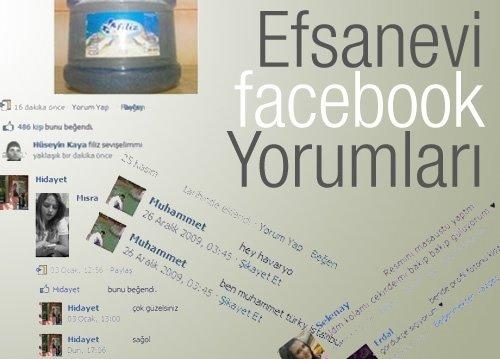Efsanevi Facebook yorumları