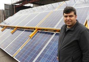 Kahramanmaraşlı girişimciden mobil güneş enerji santrali