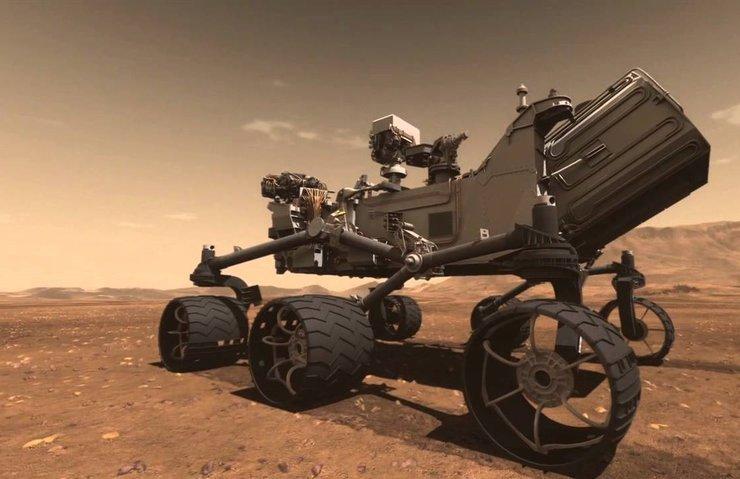 MARS GÖREVİ İÇİN ROBOT GELİŞTİRİYOR