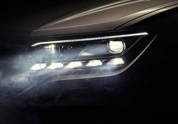 Yeni Volkswagen Touareg'in videosu ortaya çıktı