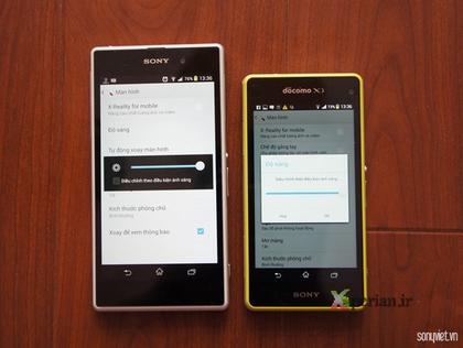 Sony Xperia Z1f, Z1'in pabucunu dama atıyor