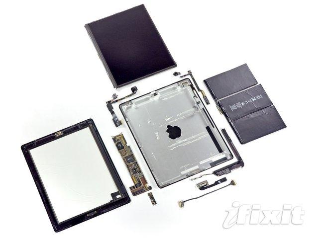iPad 2'yi de paramparça ettiler