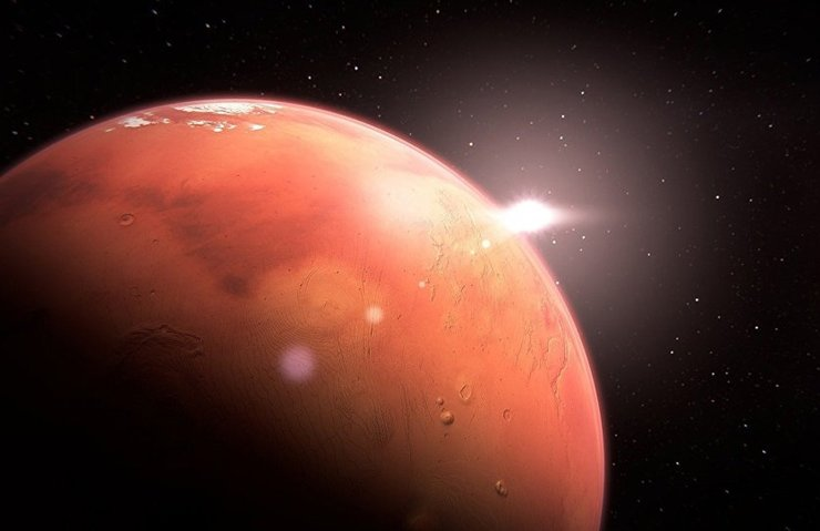 NASA'NIN UZAY ARACI INSİGHT MARS'TAN İLK ÖZÇEKİMİ GÖNDERDİ