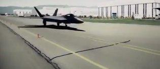 Milli Muharip Uçak göründü, işte videosu