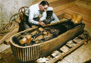 Tutankamon'un mezar odasını gördünüz mü?