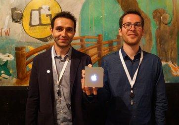 Türk girişimciler Apple'ın büyük ödülünü kazandı