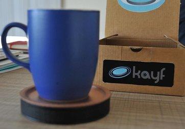 Bilgisayar öğretmeninin ısıyı koruyan bardak altlığı projesi Kickstarter'da