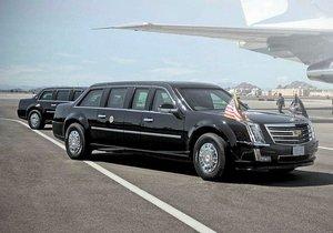 Donald Trump'ın yeni arabası testte yakalandı