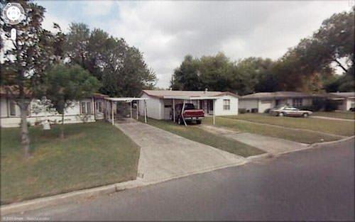 Google Street View kazaları
