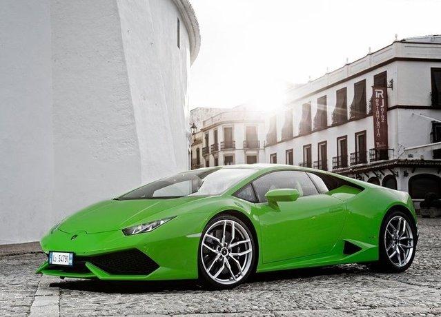 5 dolara Lamborghini Huracan!
