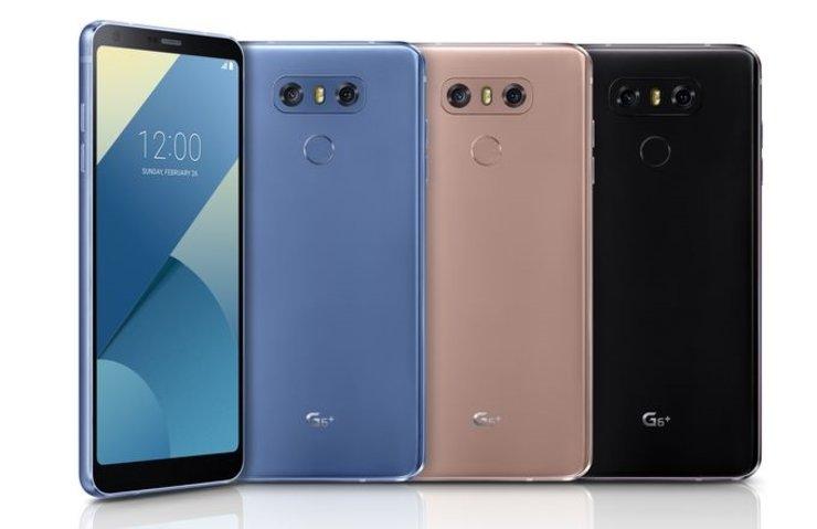 LG G6+ DUYURULDU: 128 GB DEPOLAMA VE YENİ RENK SEÇENEKLERİ