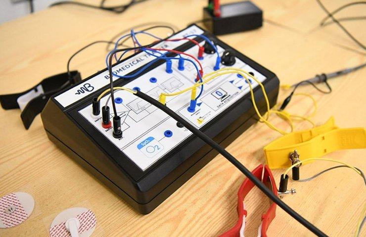Yerli biyomedikal sinyal kayıt cihazı geliştirildi