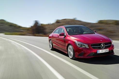 2014 model Mercedes-Benz CLA250'yi gördünüz mü?