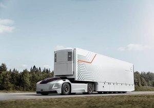 Volvo sürücü kabini olmayan tırını tanıttı