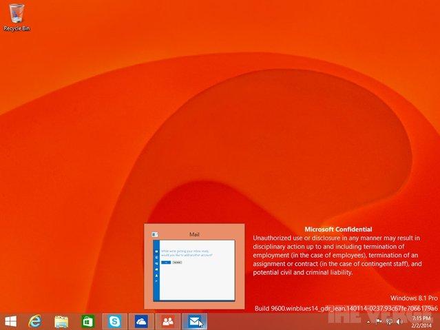 Windows 8.1 Update 1 ekran görüntüleri