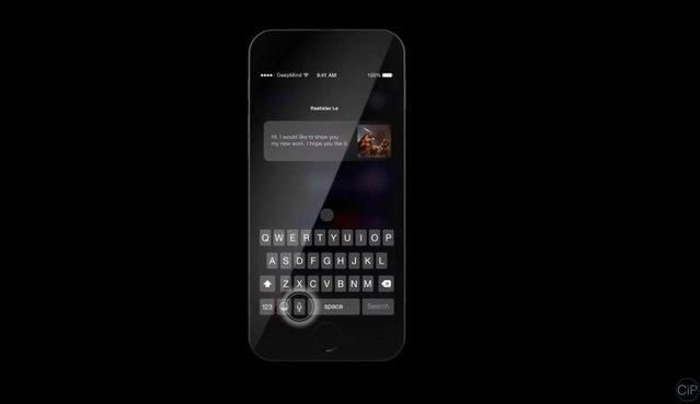 iOS 10'lu iPhone 7 nasıl görünüyor?