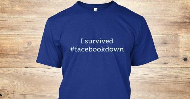 Facebook 1 saat çöktü, sosyal medya yıkıldı