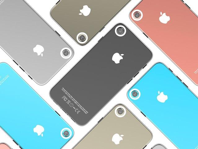 Kameraya vurgu yapan iPhone 7 konsepti