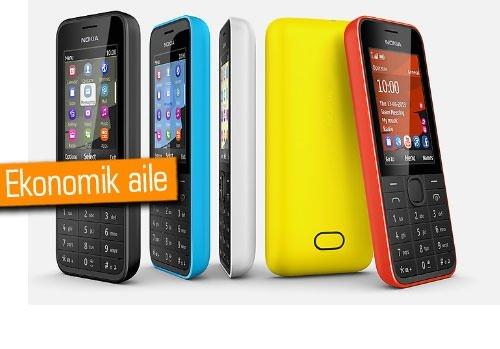 Nokia'dan hesaplı telefonlar: 207, 208, 208 Dual