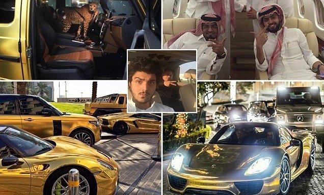 Dünya, Suudi milyarderin lüks yaşamını konuşuyor!