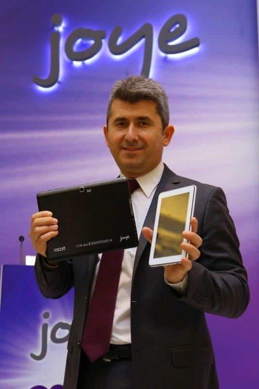 Escort Joye tablet modelleri tanıtıldı