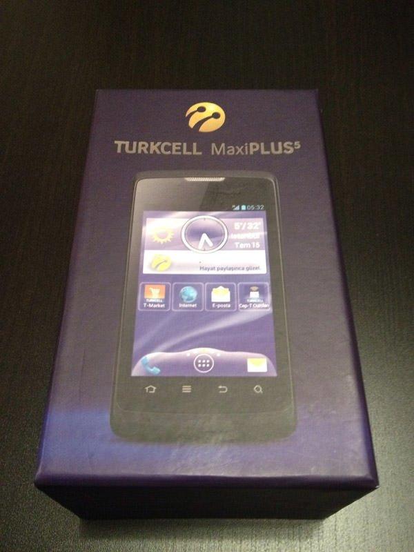 Turkcell MaxiPLUS 5