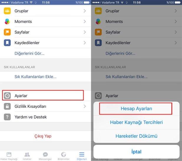 Facebook mobil uygulamasında oyun davetleri nasıl engellenir?