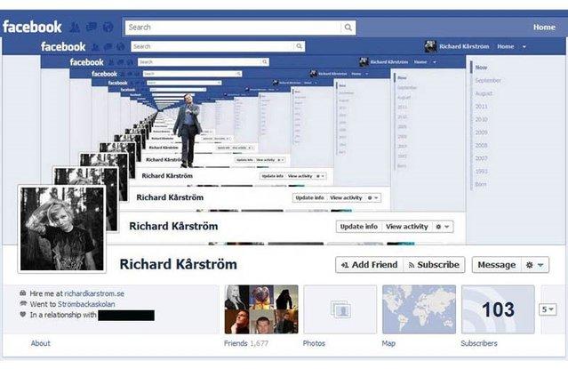 Yaratıcı 25 Facebook Timeline kapak tasarımı