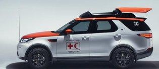 Land Rover'ın dronelu aracı hayat kurtaracak