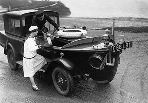 Eskinin garip arabaları ve motorlu taşıtları