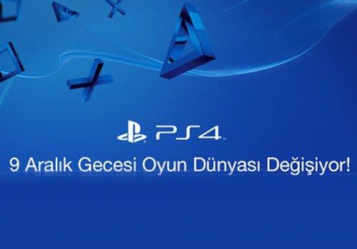 PlayStation 4 Türkiye lansmanını canlı izleyin