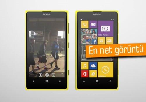 Lumia 1020'yi neden almalısınız? İşte Nokia'dan cevaplar