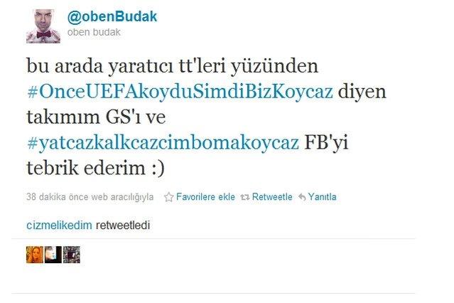 Twitter'da Galatasaray - Fenerbahçe gündemde