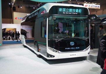 Hidrojen yakıtlı otobüs yola çıktı