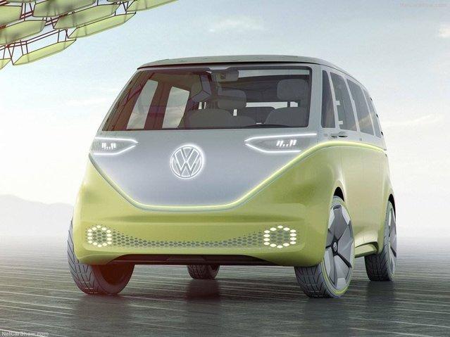 2017 Volkswagen ID Buzz Concept ile tanışın