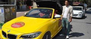 BMW 2 Serisi Cabrio'yu ticari taksi yaptı
