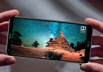 LG G7 yok ama uygulaması var!