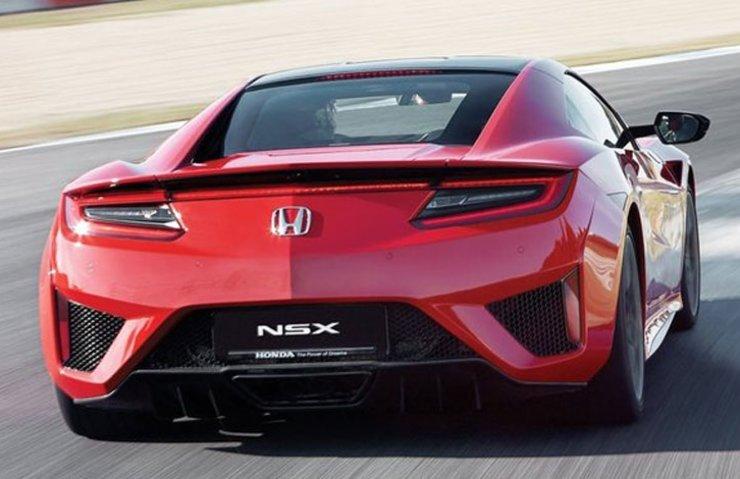 Honda NSX sürüş izlenimi
