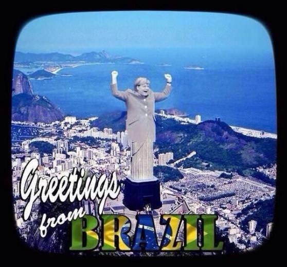 Brezilya'nın mağlubiyeti sosyal medyayı salladı
