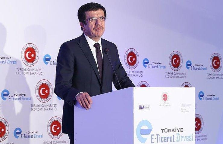 'E-TİCARETİN TOPLAM TİCARET İÇİNDEKİ PAYI TÜRKİYE'DE YÜZDE 2'