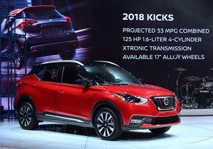 2018 Nissan Kicks tanıtıldı
