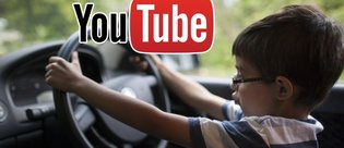 8 yaşındaki çocuk Youtube'dan araba kullanmayı öğrendi