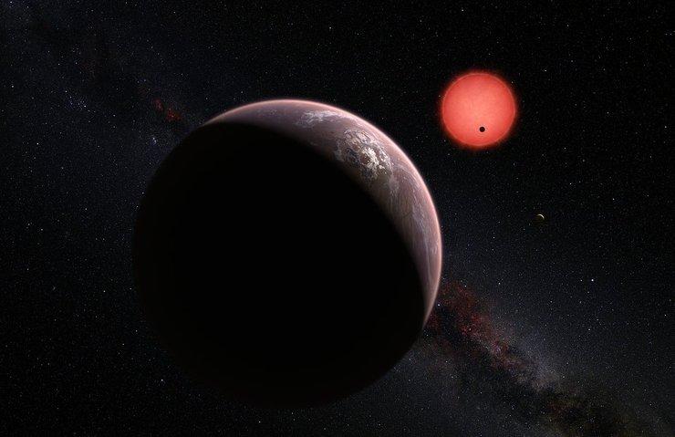 7 GEZEGENLİ SİSTEM TRAPPIST-1'İN İLK FOTOĞRAFI YAYINLANDI