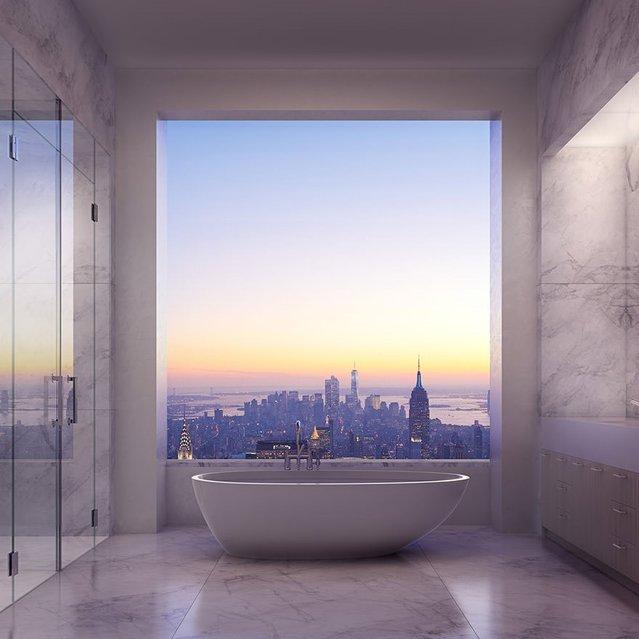 95 milyon dolarlık dairede yaşamak