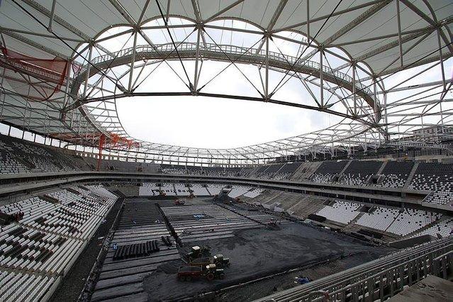 Beşiktaşlılar müjde. Vodafone Arena'nın açılış tarihi belli oldu!