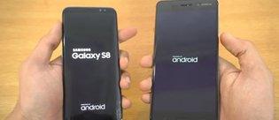 Samsung Galaxy S8 ve Nokia 6 hız testinde karşı karşıya!