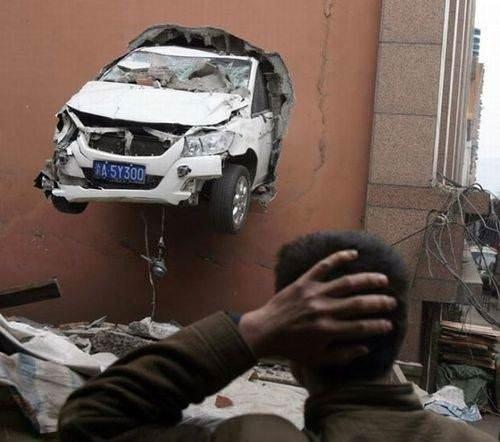 Akıllara durgunluk veren trafik kazaları