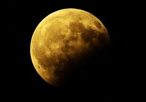 Parçalı Ay Tutulması gerçekleşti