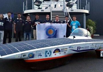 Yerli güneş enerjili araç uluslararası yarışmada 2. oldu